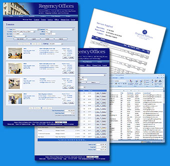 Software Development Example - Office Management System for Regency Offices
