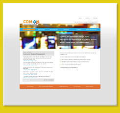Web Design for Concourse Display Management, London