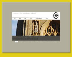 Web Design for Sally Strachey Historic Conservation