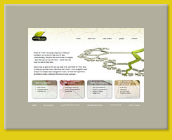 Web Design for Wood for Trees Ltd, Bath